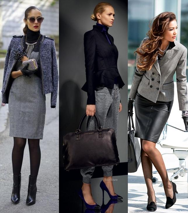 dfa62c55f0cb Деловой стиль одежды для женщин  фото, луки, особенности сочетаний ...