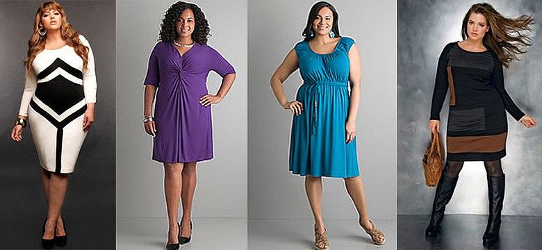 b93530b4908 Фасоны платьев для полных женщин  фото
