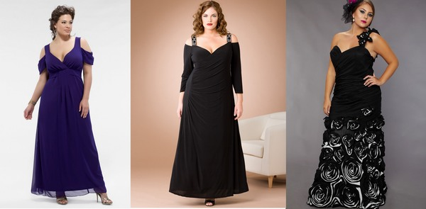 Фасон женский платье вечерний