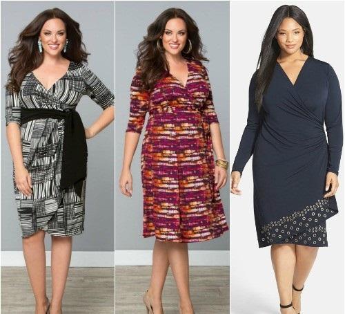 Фото платья для толстушек