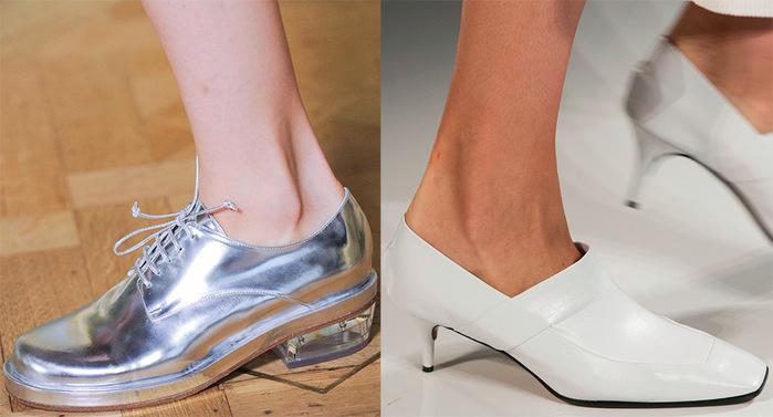 Туфли женские 2016 года модные тенденции