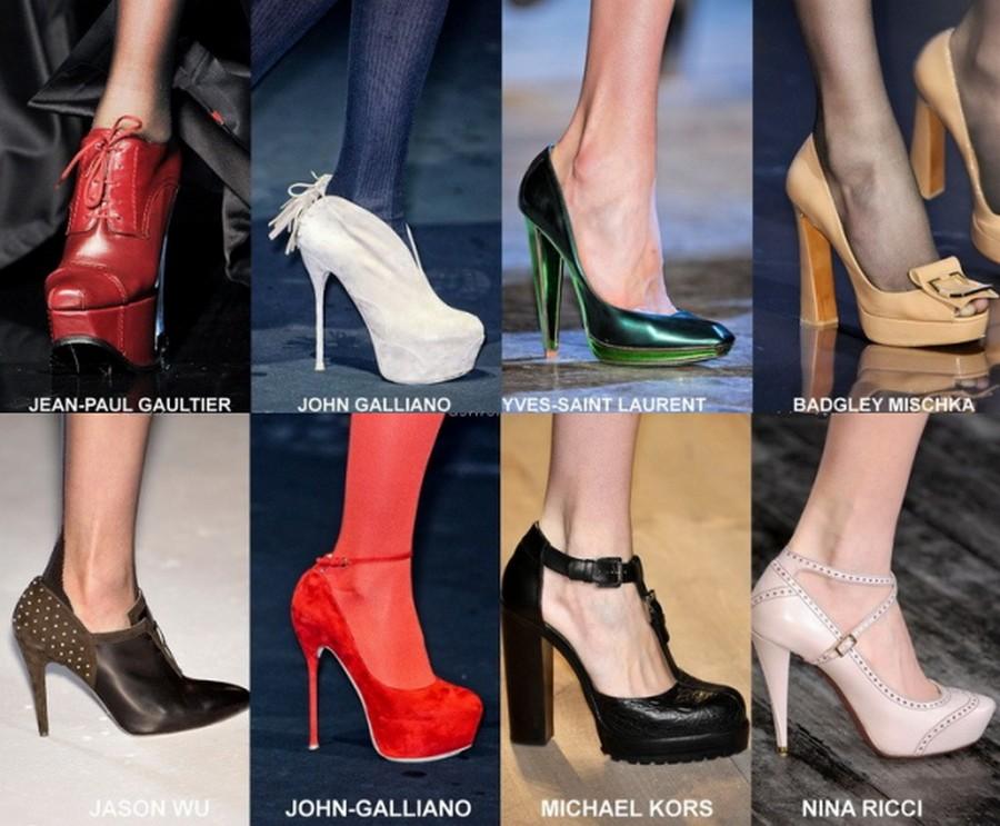 Модные туфли этого сезона на