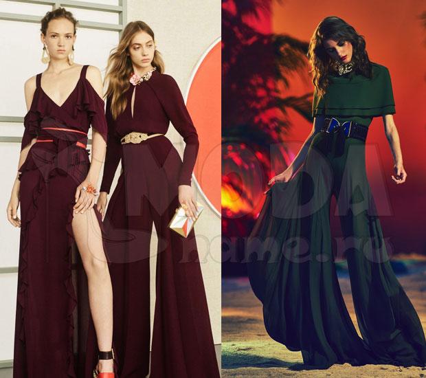 Модные вечерние женские комбинезоны 21