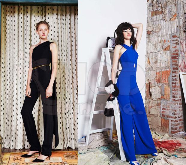 Модные вечерние женские комбинезоны 22
