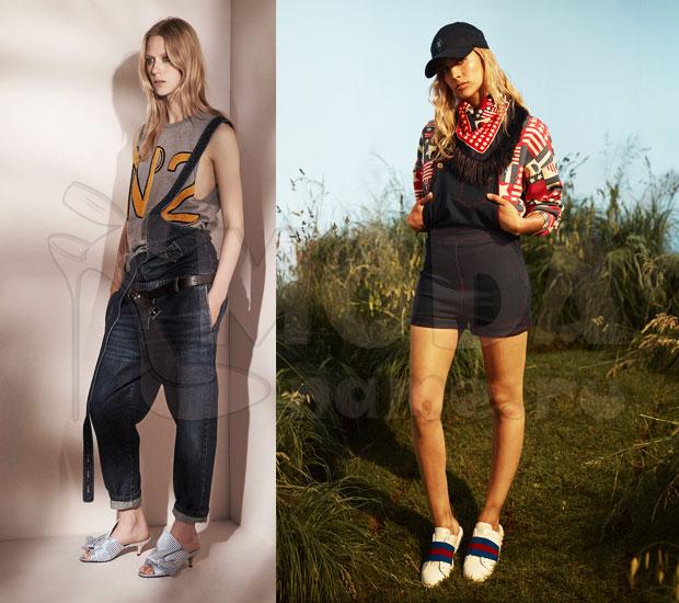 Комбинезоны джинсовые женские летние