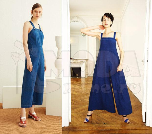 Комбинезоны джинсовые женские летние 26