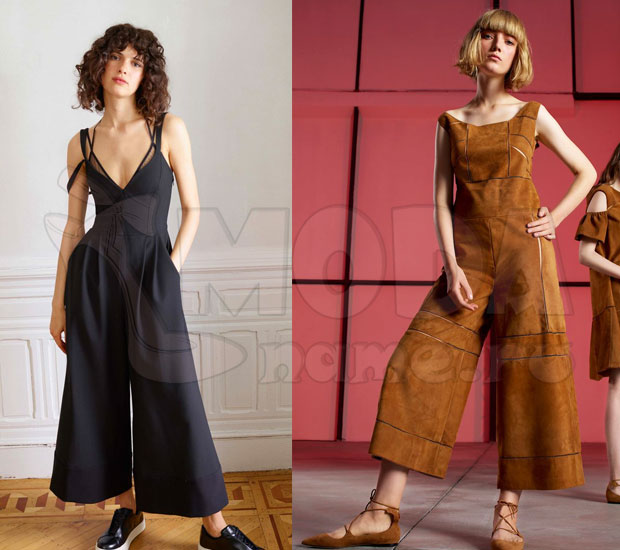 Комбинезон женский летний с брюками: с укороченными брюками