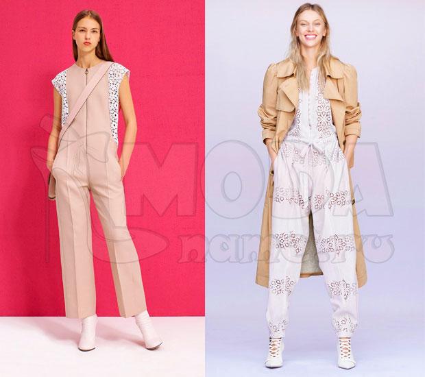 Комбинезон женский летний с брюками: Кружева и шитье 52