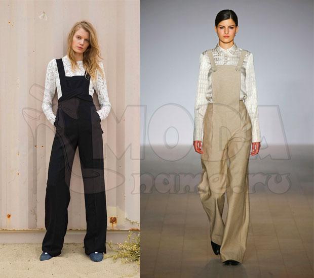 Комбинезон женский летний с брюками: Без спинки на широких бретелях