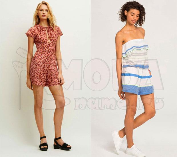 Комбинезон женский летний с шортами