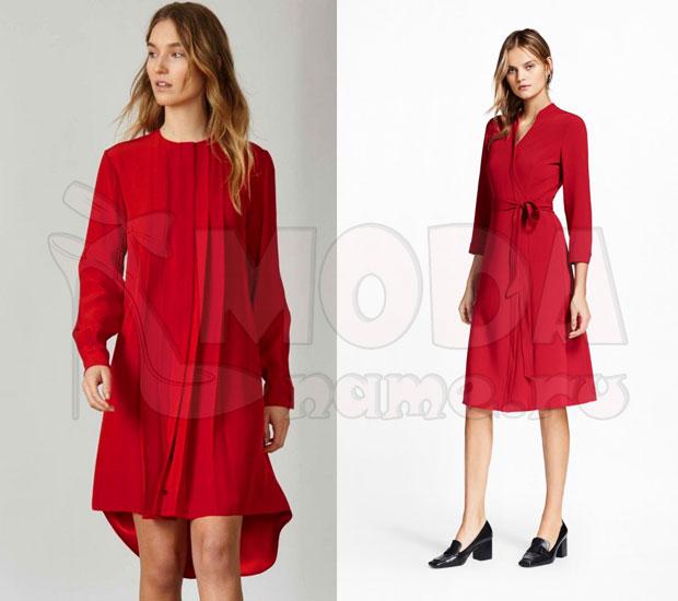 Красный total look