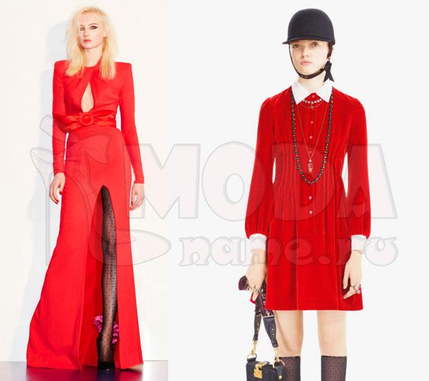 Красный total look2